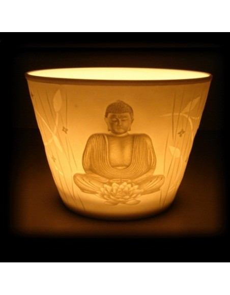 Eclairage d'ambiance motif Bouddha