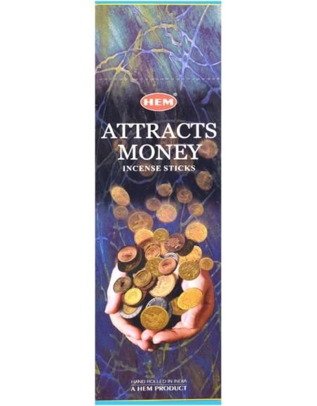 Encens HEM attire l'argent