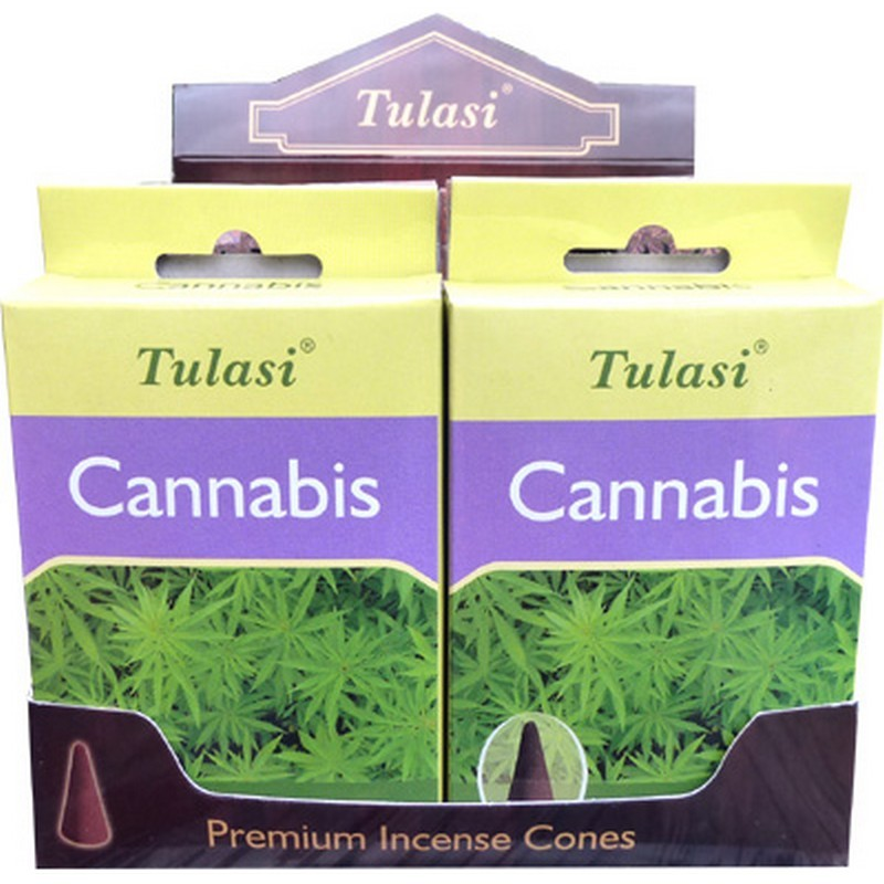 Cône Encens Cannabis TULASI SARATHI