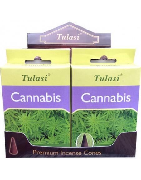 Cannabis Incense Cone TULASI SARATHI