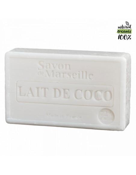 Natural Marseille soap Coco Milk
