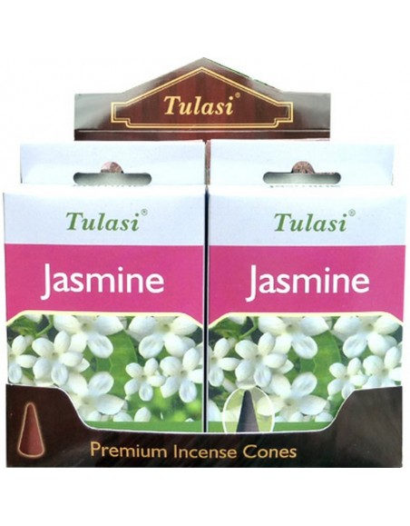 Incense cone Jasmine TULASI SARATHI