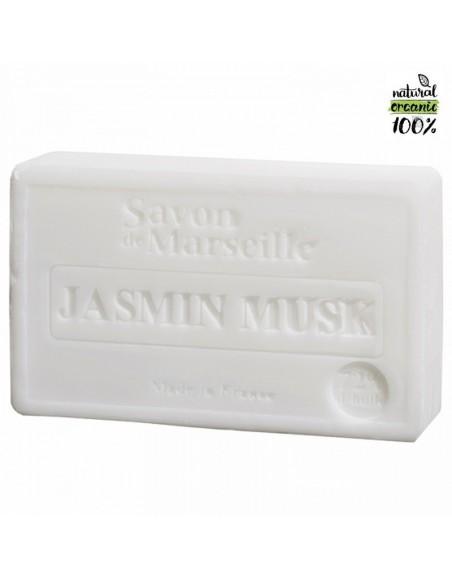 Natural Marseille soap Jasmine-Musk