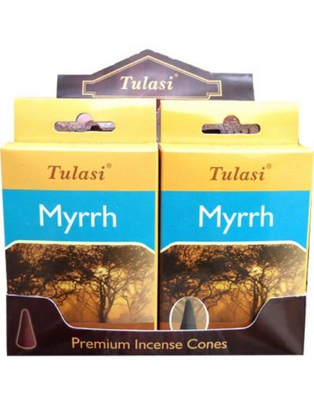 Incense cone Myrrh TULASI SARATHI