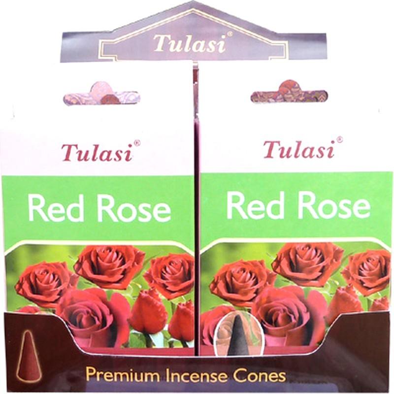 Cône Encens roses rouge TULASI SARATHI