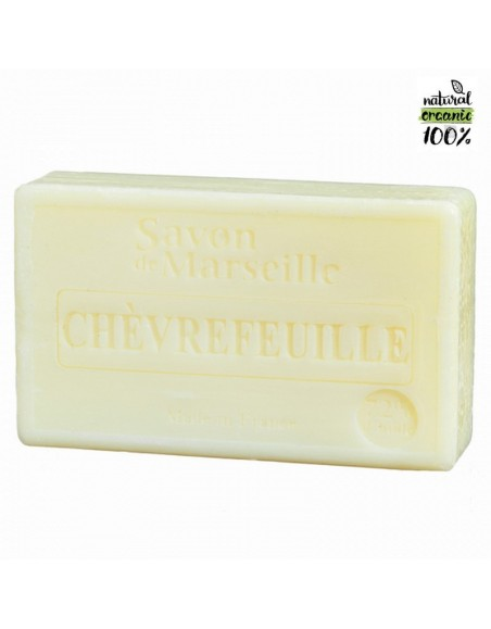 Natural Marseille soap Honeysuckle