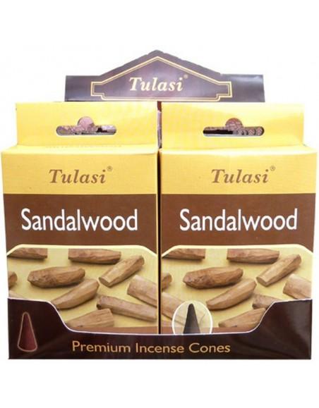 Sandalwood Incense Cone TULASI SARATHI