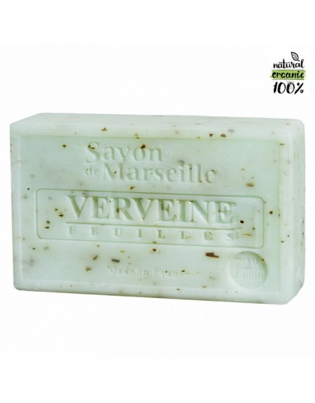 Natural Marseille soap Verbena Leaves