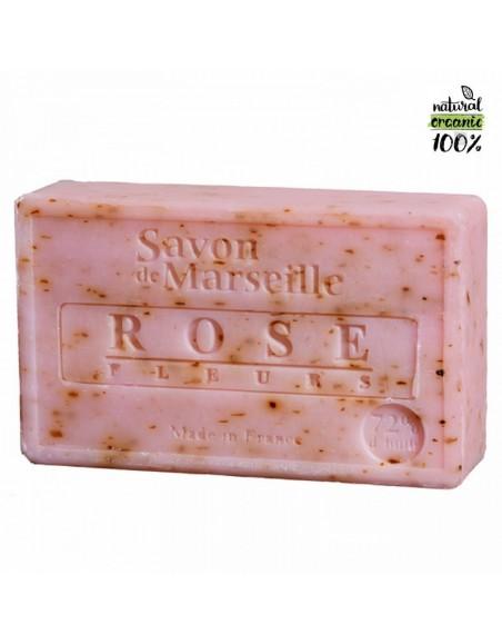 Savon de Marseille naturel Pétales de Roses