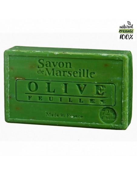 Natural Marseille soap Olive Leaves