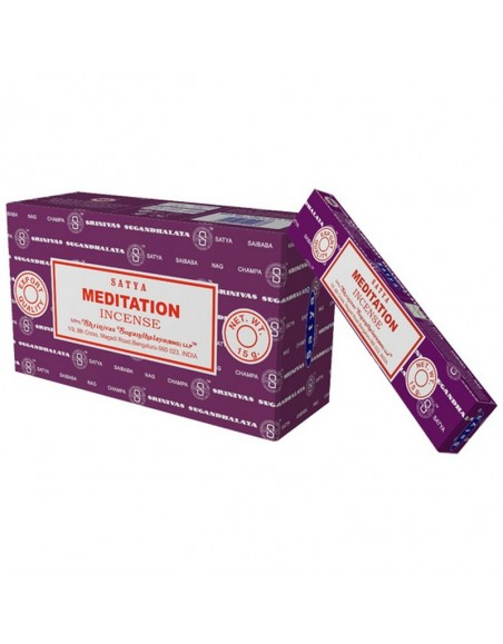 Meditation incense SATYA