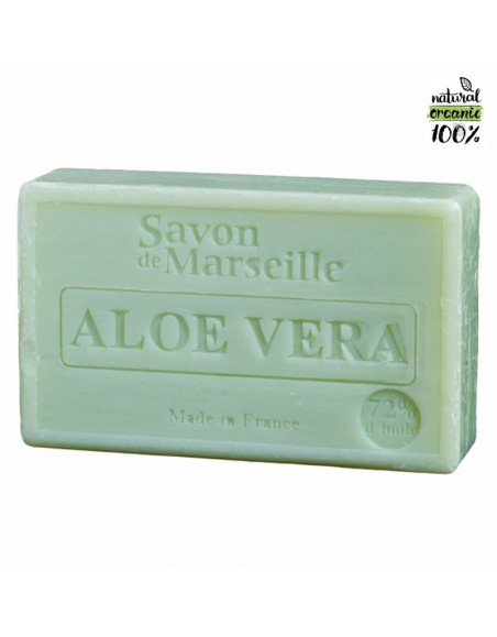 Natural Marseille soap Aloe Vera