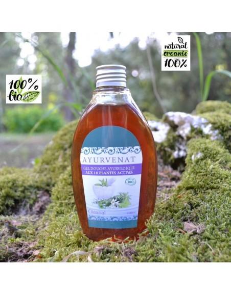 Shower Gel with 18 herbs Ayurvedic BIO