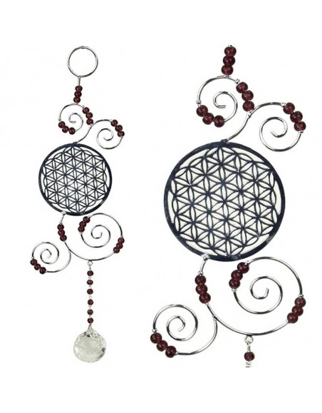 Feng Shui Flower of life pendant