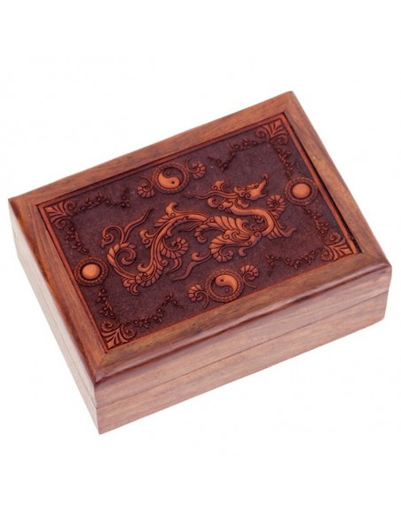 Boîte à tarots en bois