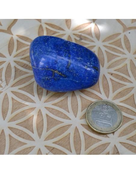 Lapis Lazuli extra - pierre roulée - 64 gr