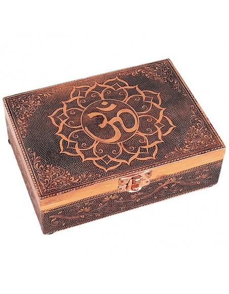 Tarot box OM copper color