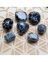 Obsidienne flocon de neige - Pierre roulée - 1 à 10 gr