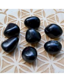 Onyx noir - Pierre roulée - 05 à 10 gr