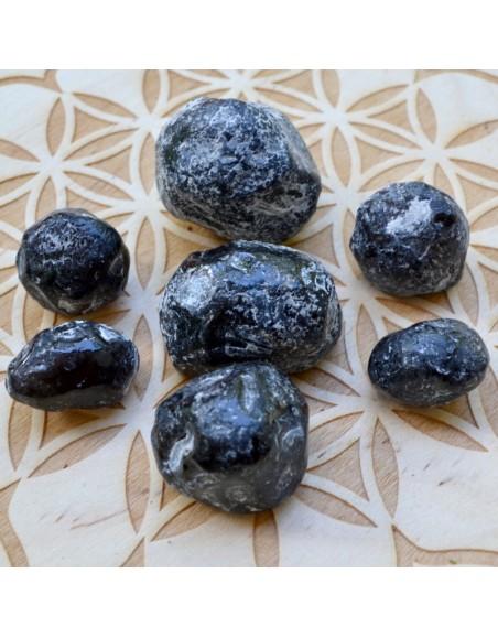 Pierre obsidienne Larme d'Apache - 25 à 35 gr