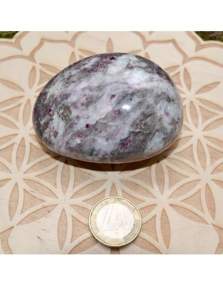 Galet Rubis violet de Birmanie - 190 gr