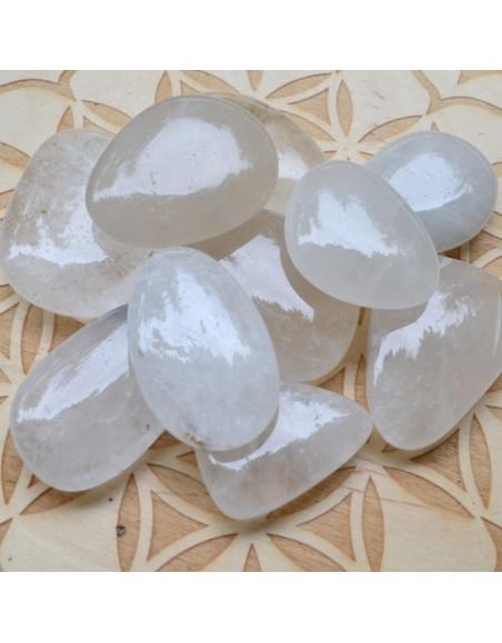 Cristal de Roche - Galet plat - 15 à 25 gr