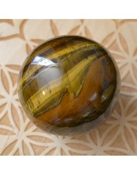 Sphère oeil de tigre - 275 gr
