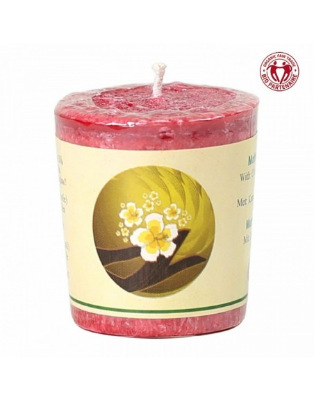 Chill-out perfumed candle Mother Earth stearin