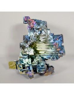 Bismuth arc en ciel bleu vert 90 gr