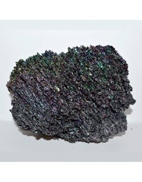 Carborandite irisée forme libre 795gr