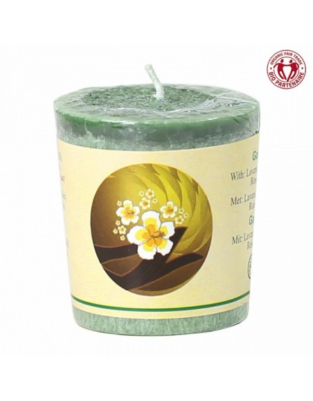 Chill-out perfumed candle Garden stearin