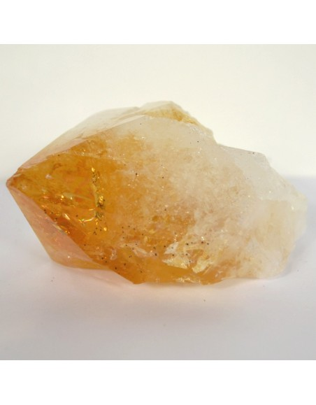 Pointe de citrine naturelle 198 gr