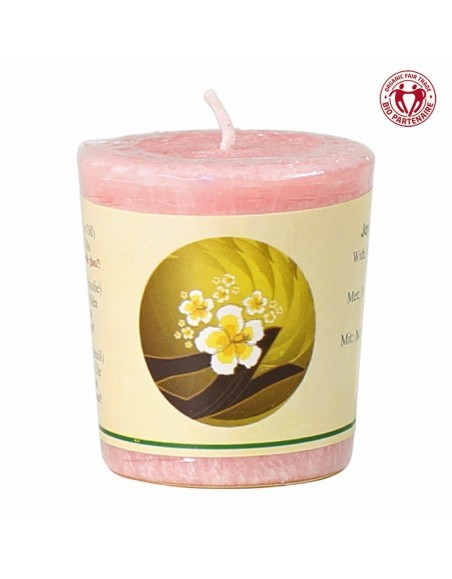 Chill-out perfumed candle Joy and Love stearin