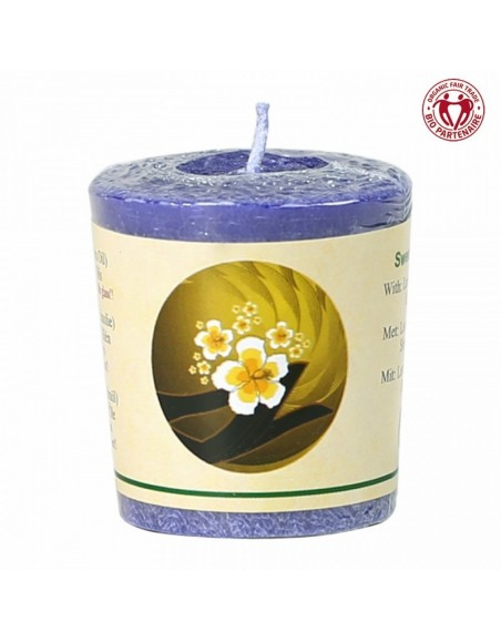 Chill-out scented candle Sweet Dreams stearin