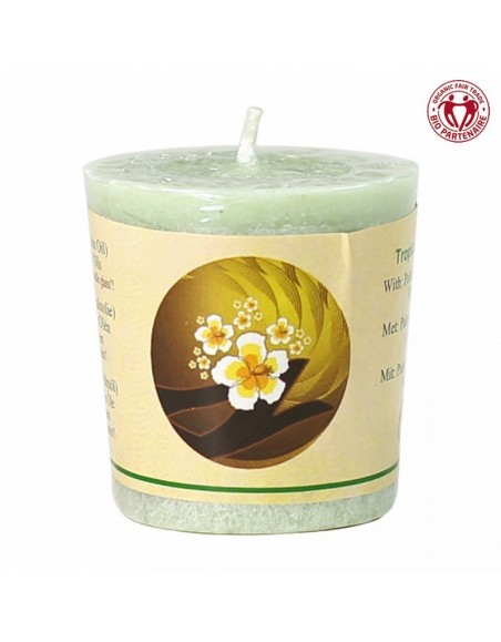 Chill-out scented candle Tropical Island stearin
