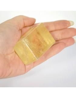 Calcite optique doré - 86 gr