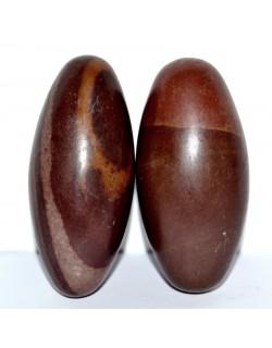 Paire de galet Shiva Lingam 7 cm
