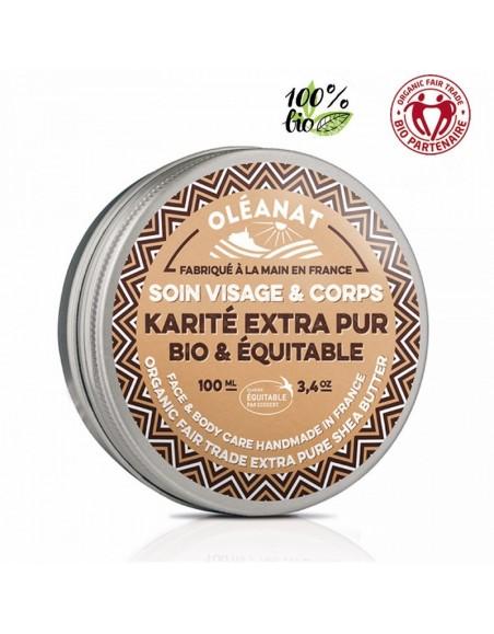 Baume Beurre Karité ss parfums comm. équitable