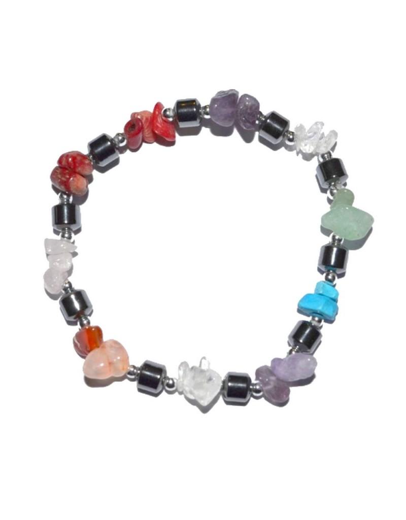Bracelet pierres naturelles 7 chakra