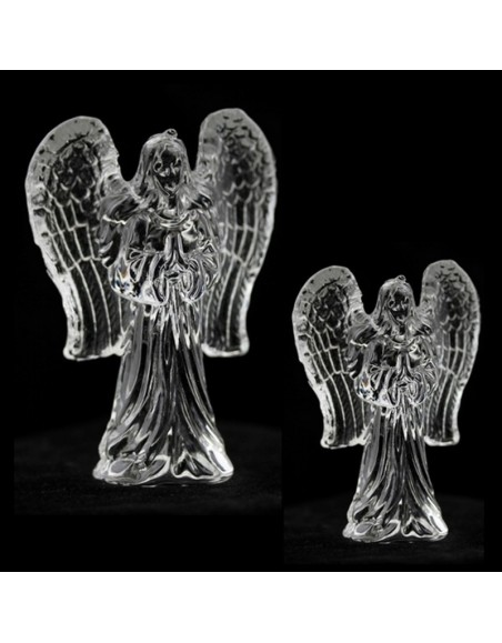 Glass Angel with frosted wings