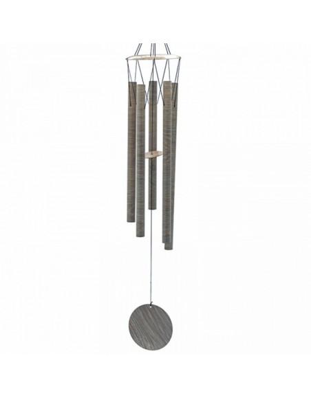 Carillon à vent cinq tubes style bambou
