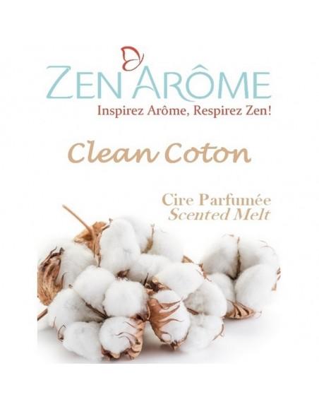 Cire parfumée Clean Coton pour diffuseur