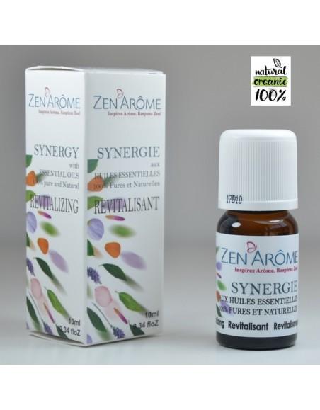 Synergie d'huiles essentielles REVITALISANTE