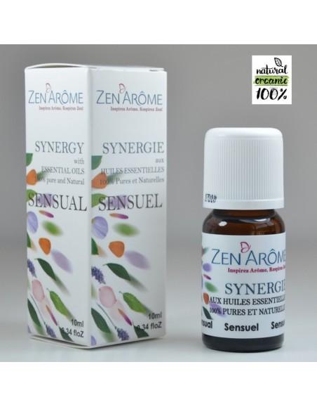 Synergie d'huiles essentielles SENSUEL