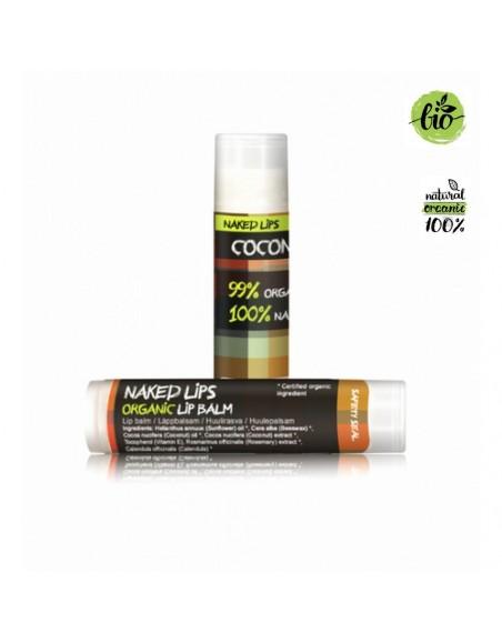 Naked Lips Organic Lip Balm Coconut