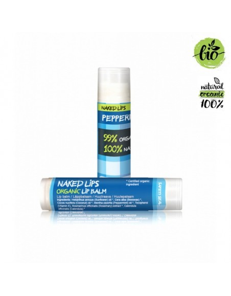 Naked Lips Organic Lip Balm Peppermint