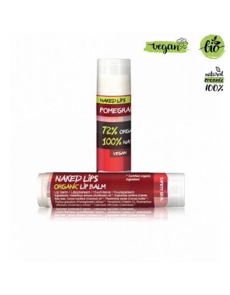 Naked Lips Vegan Lip Balm Pomegranate