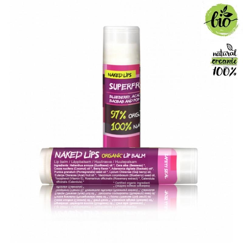 Naked Lips Organic Lip Balm Superfruits