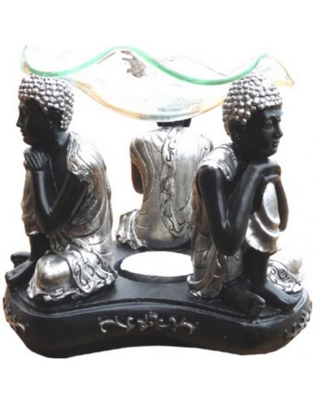 Brûle parfum Bouddhas noirs