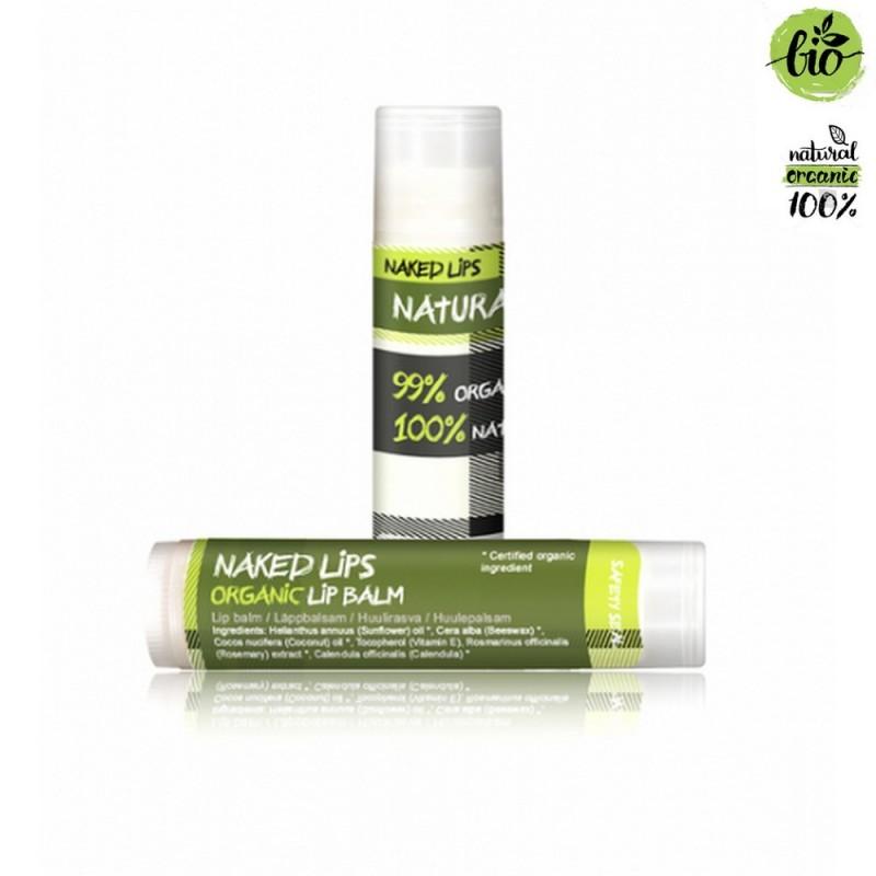 Baume à lèvres hydratant naturel bio